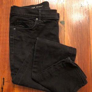 Women's Ann Taylor Loft black jeans sz 28/6